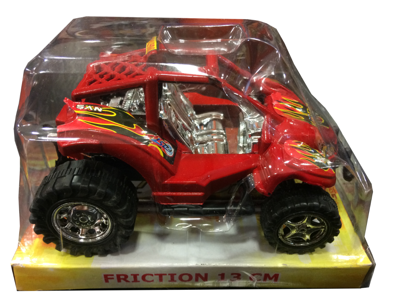 Buggy à Friction 13 cm - Rouge