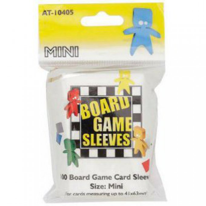 100 Protège Cartes Mini ( taille 41 x 63mm )