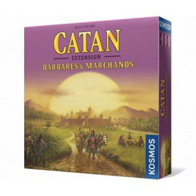 Catan - Ext Barbares & Marchands