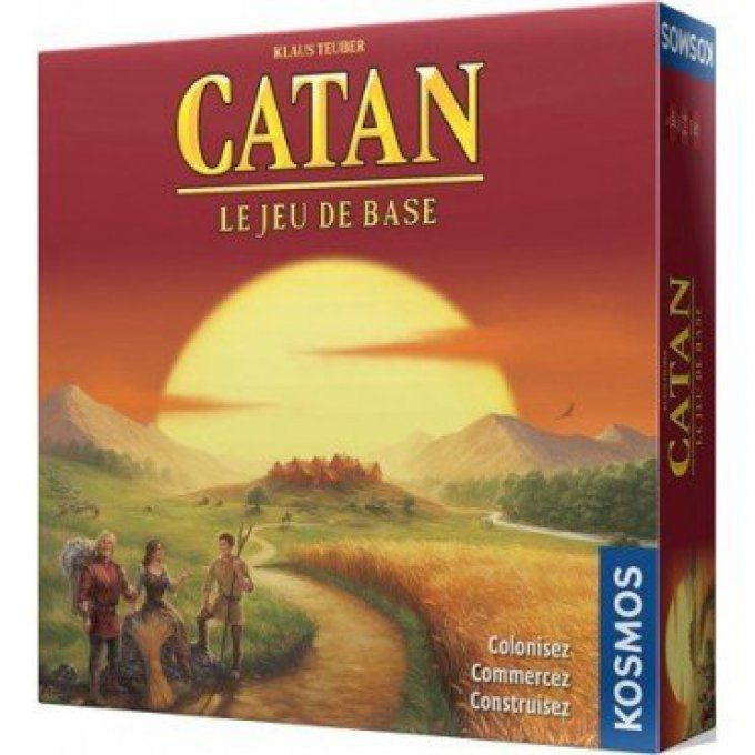 Catan - Les Colons de Catane