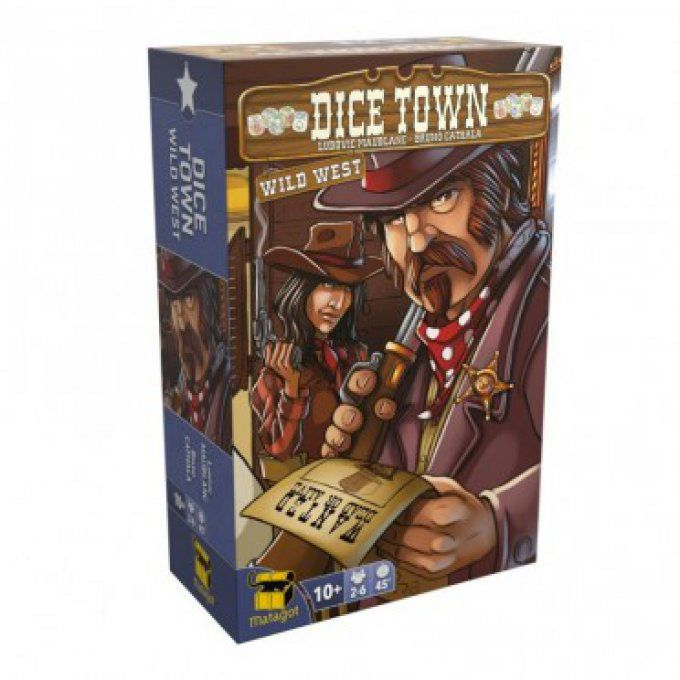 Dice Town - Extension Wild West
