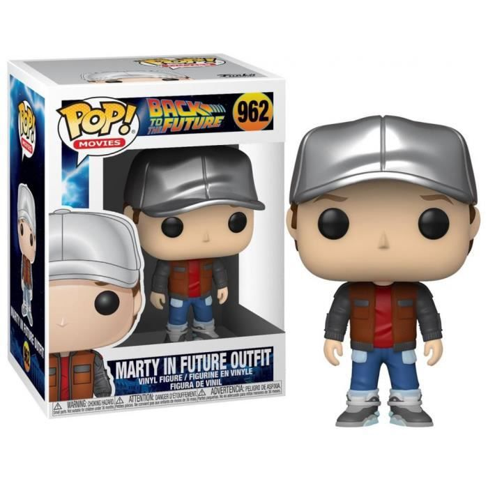 Figurine Pop Back to the Future Marty in Future Outfit