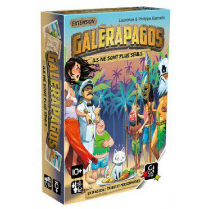 Galerapagos - Extension Tribu et personnages
