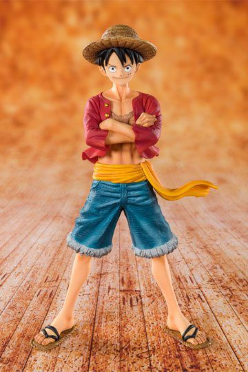 FIGURINE LUFFY COLLECTION FIGUARTSZERO