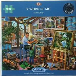 Puzzle A Work of Art - 1000 Pièces