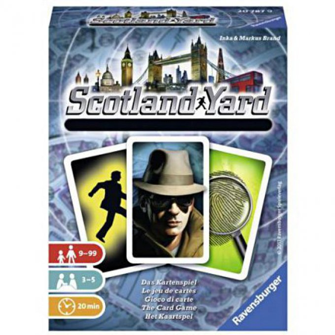 Scotland Yard -Le jeu de cartes