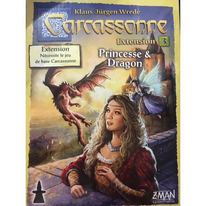 Carcassonne - Princesse et Dragon (Nouvelle Edition)